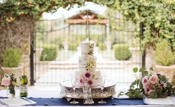 Outdoor Patio Reception for Small Weddings
