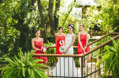 Bridal Party at Bridal  Entrance