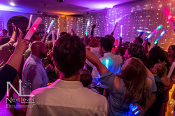 accent lights, party, dancing reception