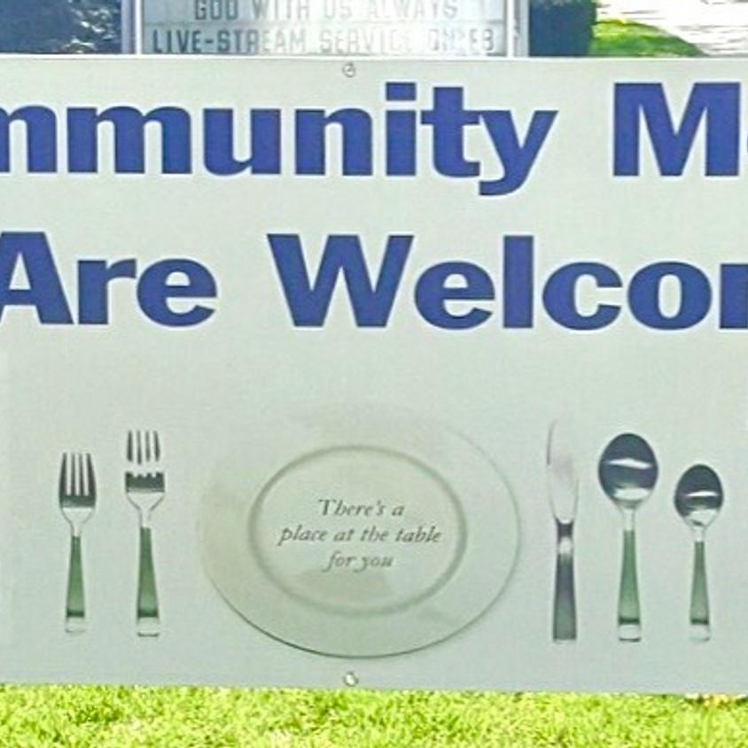Drive-thru Community Meal