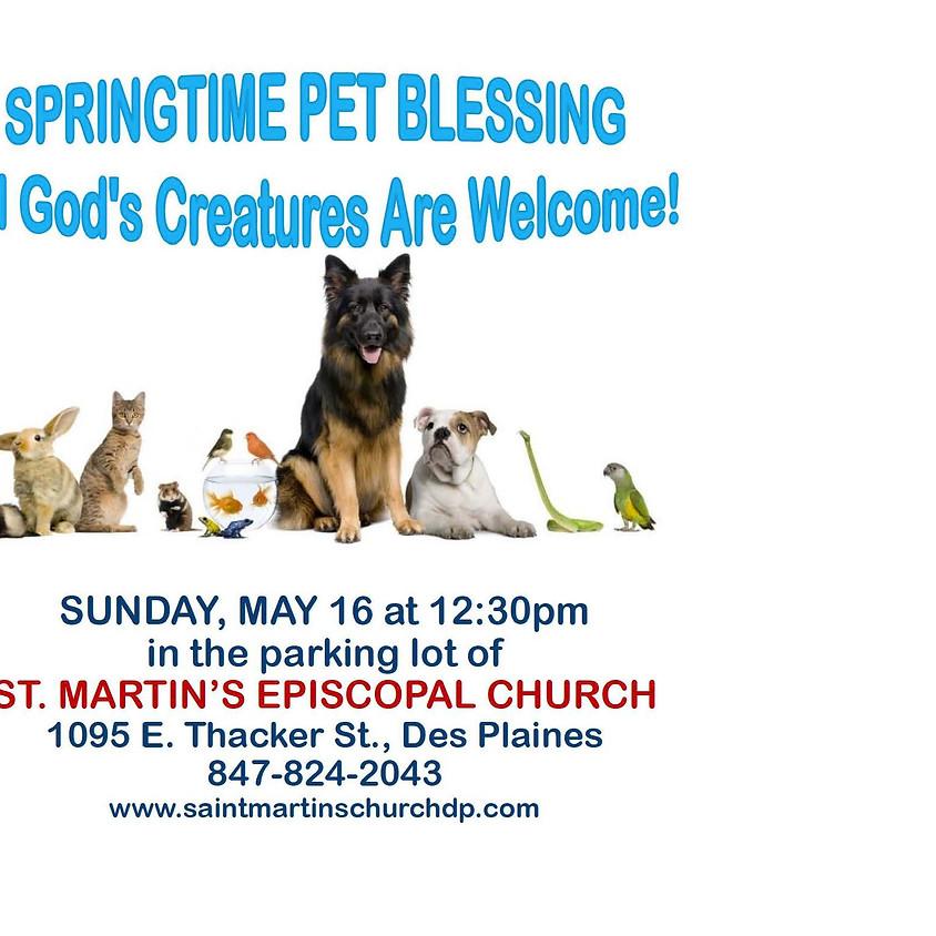 Spring Pet Blessing