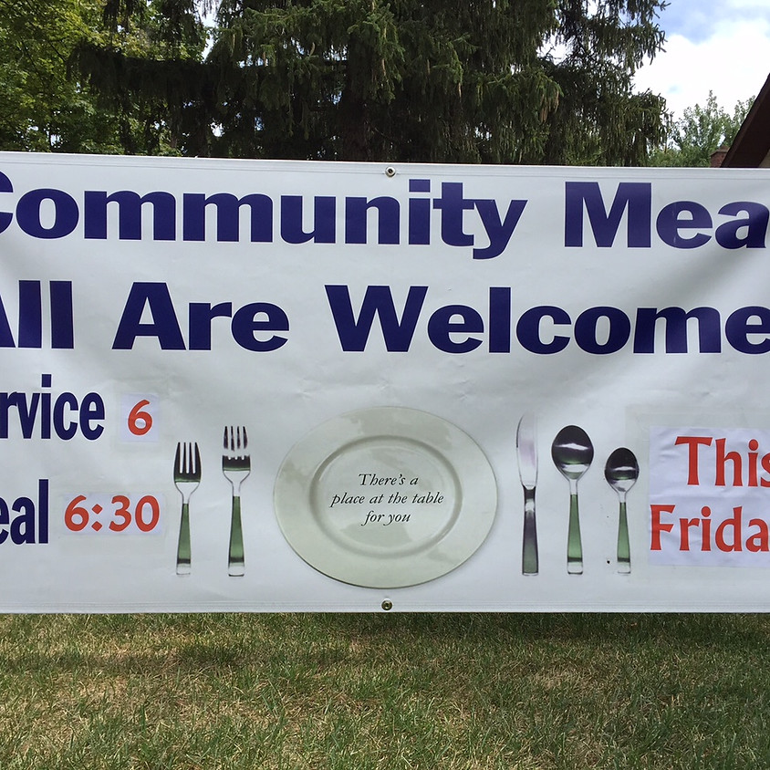Community Meal - starting one week LATE