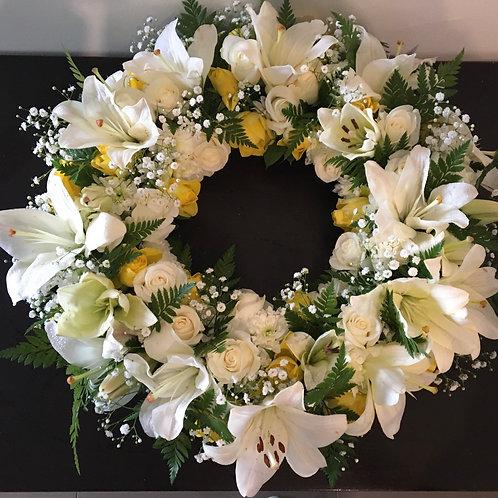 Coroa de Flores (média 40/50cm) desde