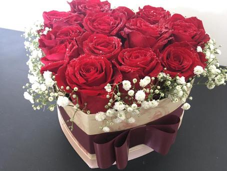 ESTA SEMANA -10% nos Bouquets de Rosas em Caixa