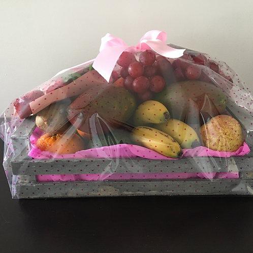 Cabaz com Fruta variada
