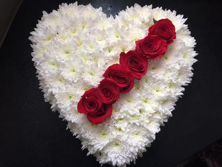Promocão da Semana - Coração Floral -15%