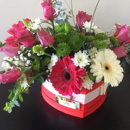Bouquet Flores variadas (em Caixa)