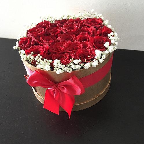 Bouquet de Rosas em Caixa desde