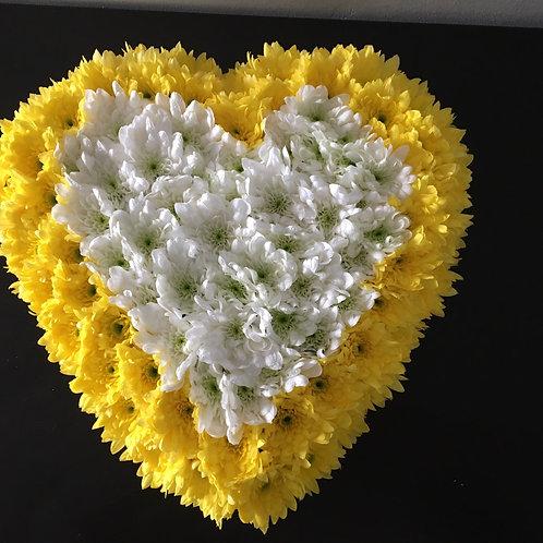 Coração de Margaridas (30cm)