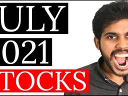 3 STOCKS I'm BUYING in JULY 2021