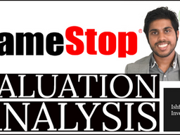 GameStop Valuation Analysis January 2021
