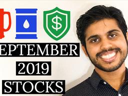 3 STOCKS I'm BUYING in SEPTEMBER 2019 🎂