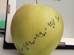 From an apple to black holes