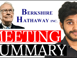 Warren Buffett Berkshire Hathaway Annual Meeting 2021 Summary & Analysis