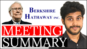 Warren Buffett Berkshire Hathaway Annual Meeting 2021 Summary & Analysis