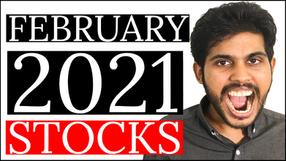 3 STOCKS I'm BUYING in FEBRUARY 2021