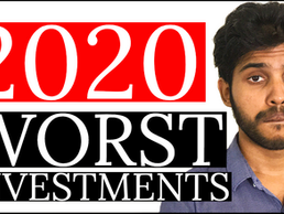 My Top 5 Investing Mistakes of 2020