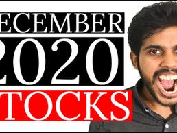 3 STOCKS I'm BUYING in DECEMBER 2020