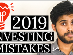 5 INVESTING MISTAKES I made in 2019 👎
