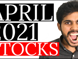 3 STOCKS I'm BUYING in APRIL 2021