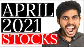 3 STOCKS I'm BUYING in APRIL 2021