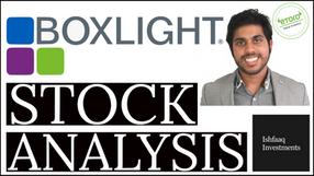 Boxlight Stock Analysis