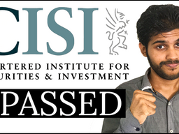 Passing, Failing and Passing my CISI Exams