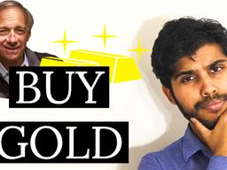 RAY DALIO says BUY GOLD 🏆