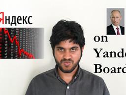 What's Happening to Yandex