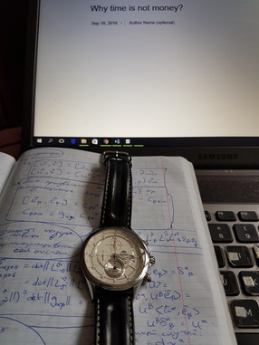 Why time is not money ?