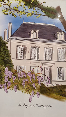 Sketch of the Manor.