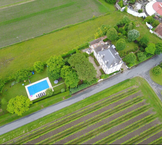 Le Logis - aerial view