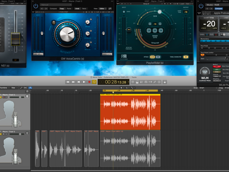 Podcast Editing with Waves plugins