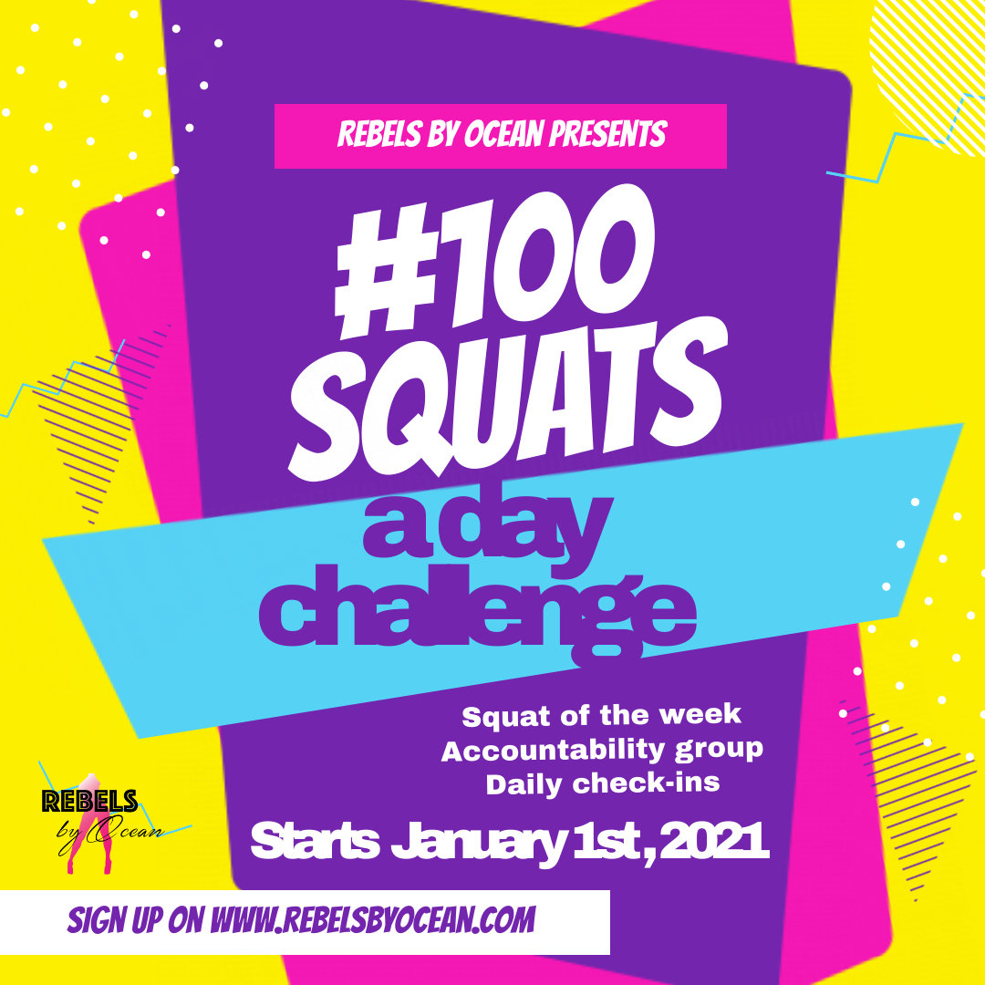 100 Squats A Day Challenge