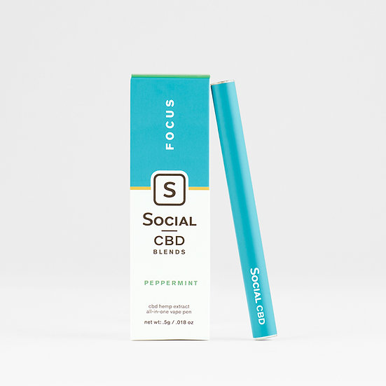 Social CBD | Peppermint Vape Pen