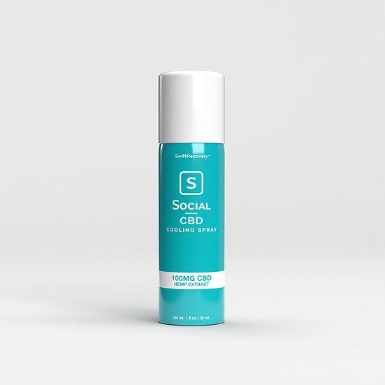 Social CBD | Cooling Spray (100 mg)