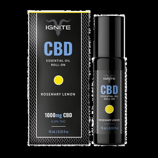 Ignite CBD | Roll On Oil-Rosemary Lemon(1000mg)