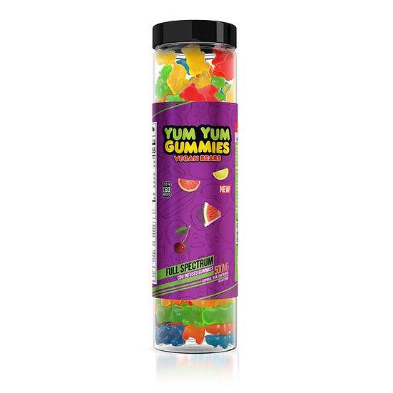 Yum Yum Gummies | Full Spectrum CBD Vegan Bears (500mg)