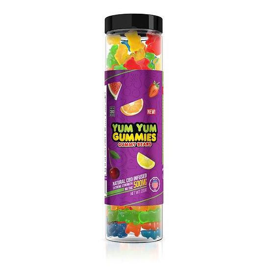 Yum Yum Gummies| CBD Infused Gummy Bears (500 mg)