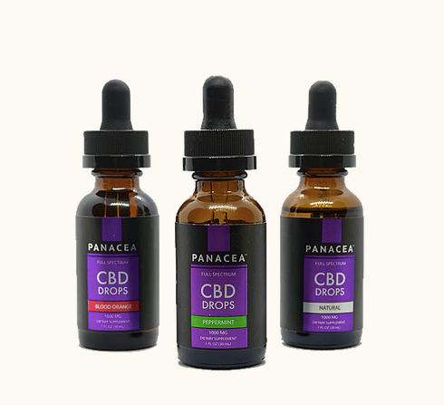 Panacea | Full-Spectrum CBD Drops (1000 MG)