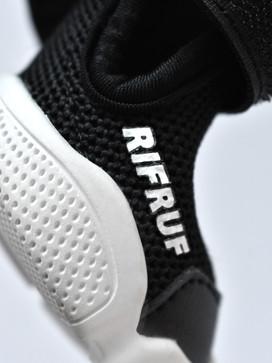 RIFRUF Black Caesar 1 Dog Shoe Close Up Shot