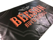 Automotive banner created for Beeson Auto in Anderson.