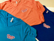 V-Neck shirts that we printed for a Prairie Farms employee.