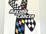 Race Against Cancer decal.