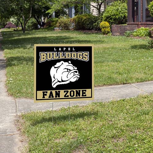 Bulldogs Yard Sign