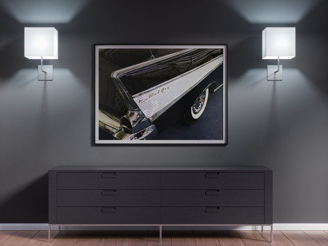 Car photo we printed for an office in Indianapolis.