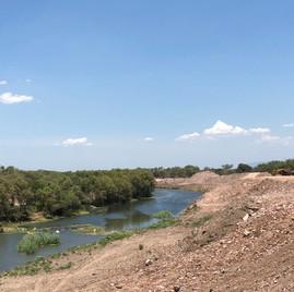 Escombros en Guiigu' Bi'cunisa