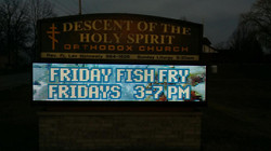 Fish Frys - Fridays 3 to 7