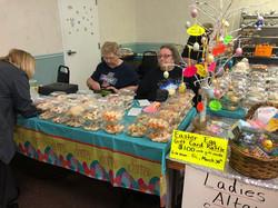 LAS Easter bake sale