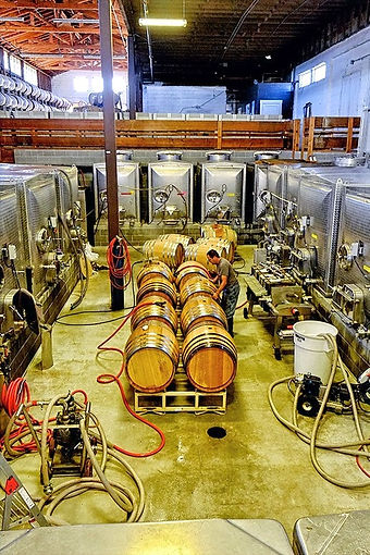 Pallet Wine Company winery production fl
